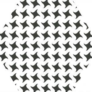 MOMA WHITE HEX 25-VARIACION 2
