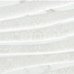 Vince Mosaic Blanco Satinado 25×75