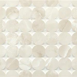 Bibury Mosaic Beige Brillo 33,3×90 Rectificado – pasta blanca