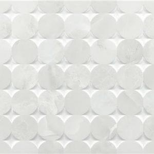 Bibury Mosaic Grey Brillo 33,3×90 Rectificado – pasta blanca