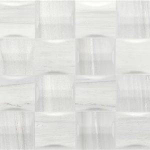 Castle Combe Mosaic White Brillo 33,3×90 Rectificado