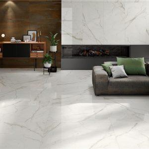 Kinsale White Pulido 120×120 Rectificado
